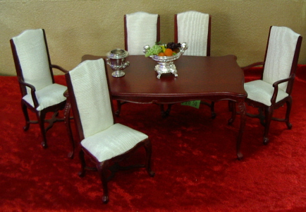 Awesome Doll House Dining Room Furniture