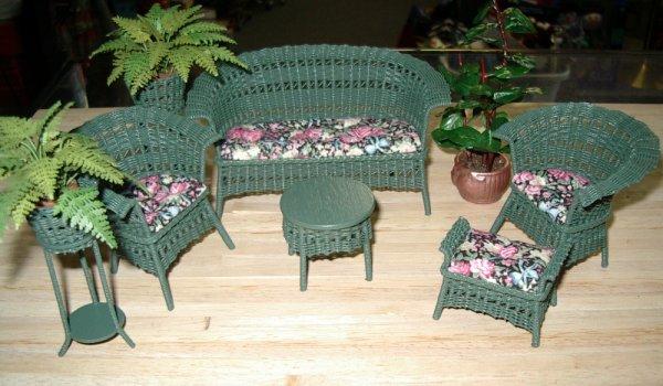 Outdoor Miniature Furniture